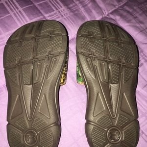 Under Armour Other - Kids Under Armor Camo Slides Size 11